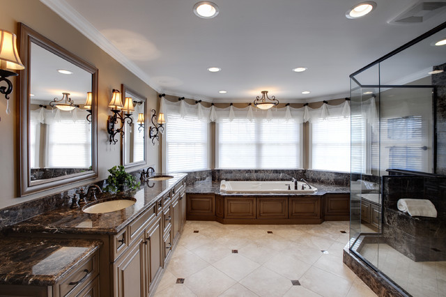 N. Barrington Master Bath traditional bathroom