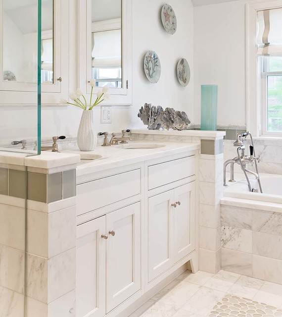 Nantucket - transitional - bathroom - boston - by Eric Roseff Designs
