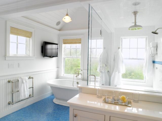 Nantucket - Beach Style - Bathroom - Boston - by Nantucket ... on new york bathroom design, orange bathroom design, nantucket bedding, cincinnati bathroom design, nantucket dining room, pittsburgh bathroom design, tampa bathroom design, nantucket interior designers, new england bathroom design, florida bathroom design, nantucket sinks, nantucket architecture, contemporary bathroom design, hong kong bathroom design, miami bathroom design, detroit bathroom design, nantucket living room, lake house bathroom design, no upper cabinets kitchen design, key west bathroom design,