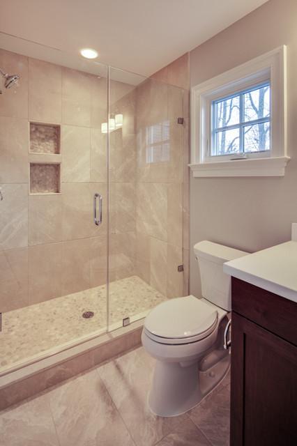 Nantucket style custom home for Nantucket style bathrooms
