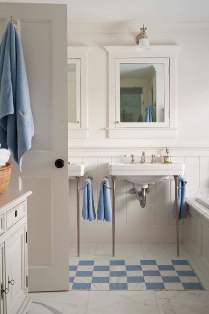 nantucket summer home traditional bathroom boston