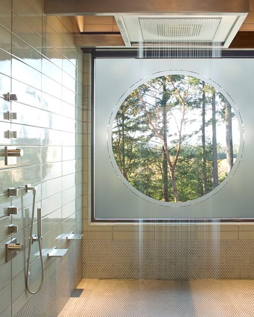 Napa Valley Contemporary Bathroom San Francisco By Justrich Design