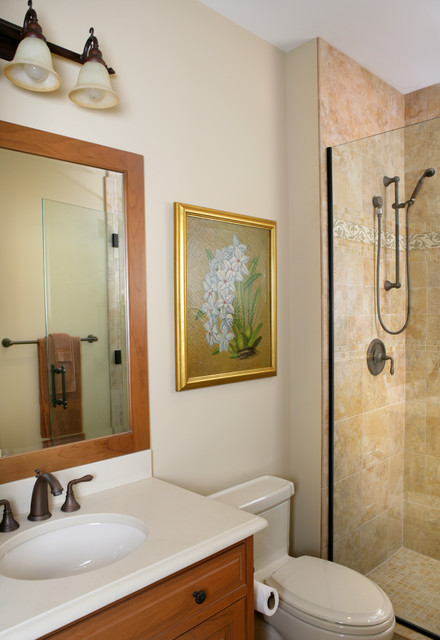 Naperville Il Traditional Bathroom Chicago By Reddington Designs