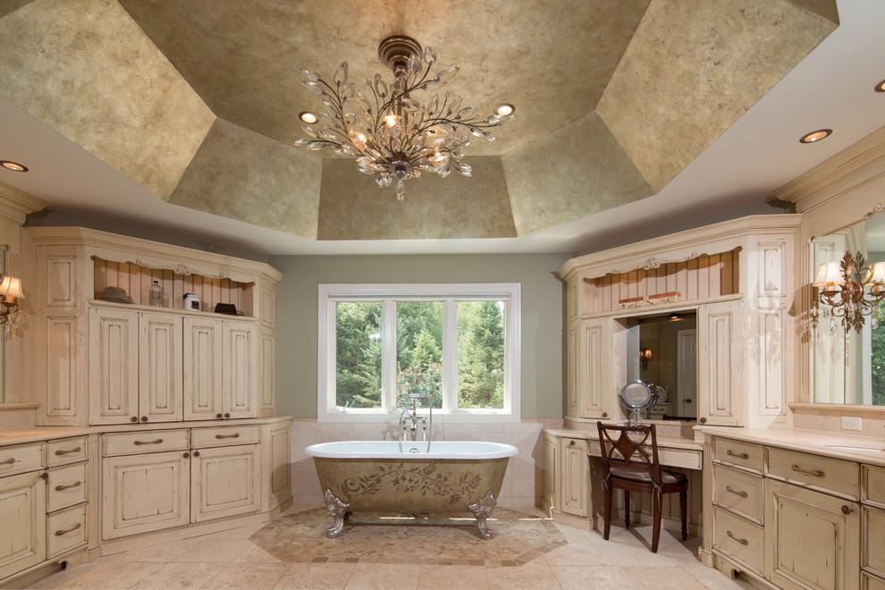 Naperville Realtor Luxury Custom Master Bathroom Traditional