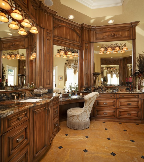 Naples mediterranean bathroom other by busby cabinets for Bathroom decor naples fl