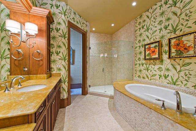 Naples Design Project tropical-bathroom