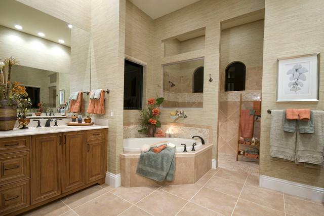 Naples fl twin eagles golf community traditional for Bathroom decor naples fl