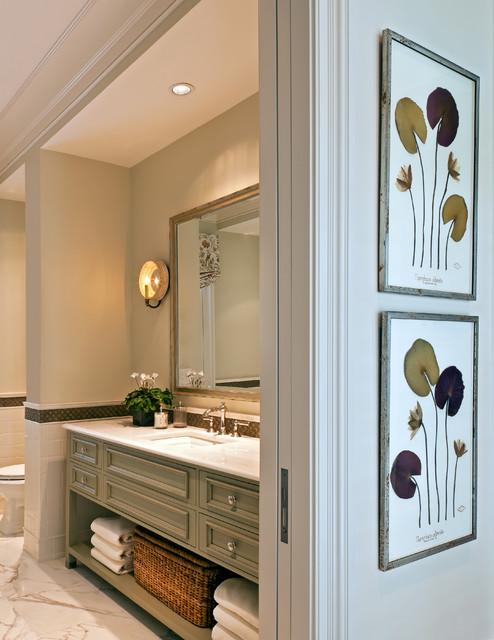 Naples florida traditional bathroom boston by theo for Bathroom decor naples fl