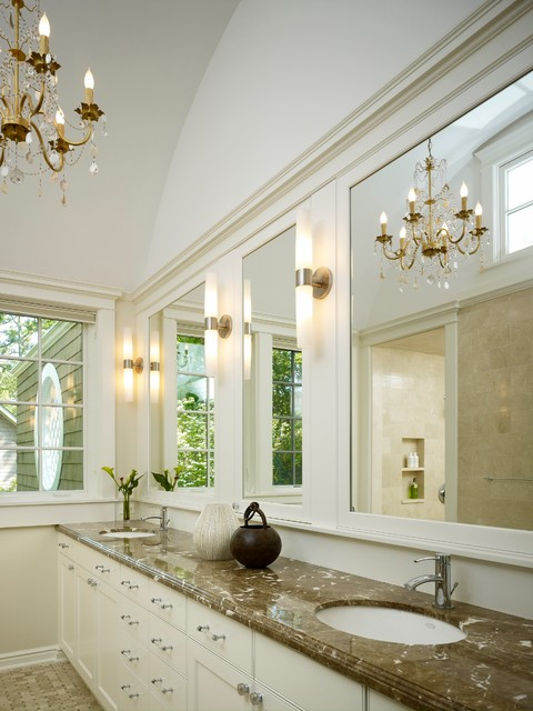 traditional bathroom by Stuart Cohen & Julie Hacker Architects LLC