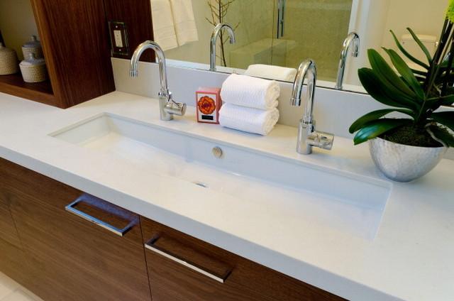 Natasha Sadeghi Residence - Contemporary - Bathroom - san ...