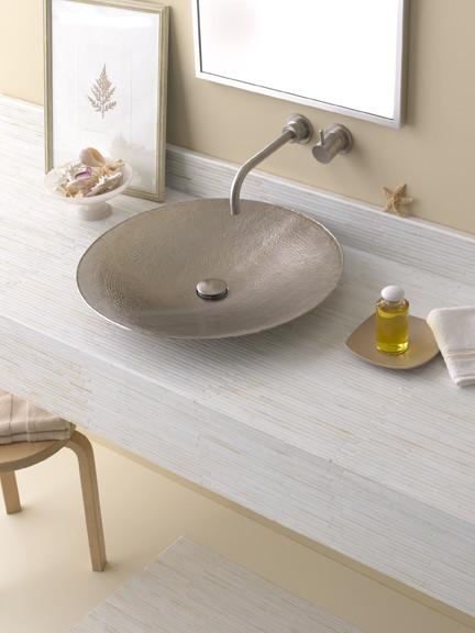 Native Trails Mandala Brushed Nickel Lav Sink Bathroom