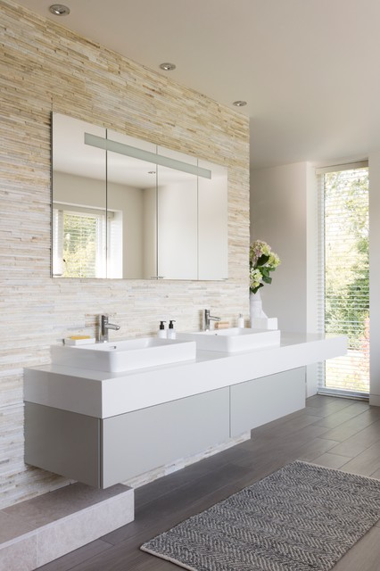 appealing natural bathroom design | Natural Luxury Ensuite - Contemporary - Bathroom - Other ...