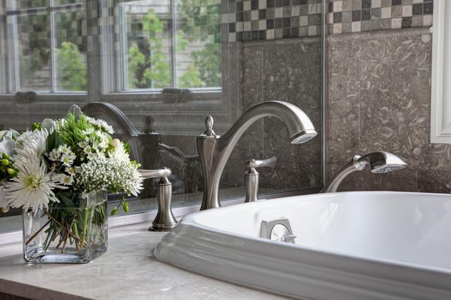 Natures Beauty Of Limestone traditional-bathroom