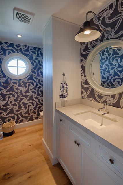 Nautica Beach Style Bathroom San Diego By Hill Construction Company