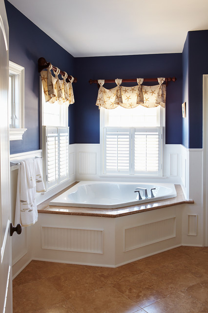 Nautical Bath traditional-bathroom