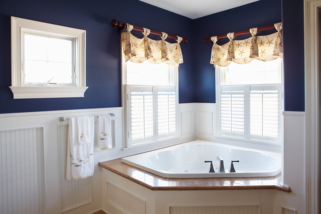 85 Ideas About Nautical Bathroom Decor: Nautical Bath