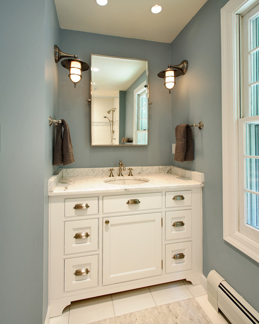 Nautical Bathroom traditional-bathroom