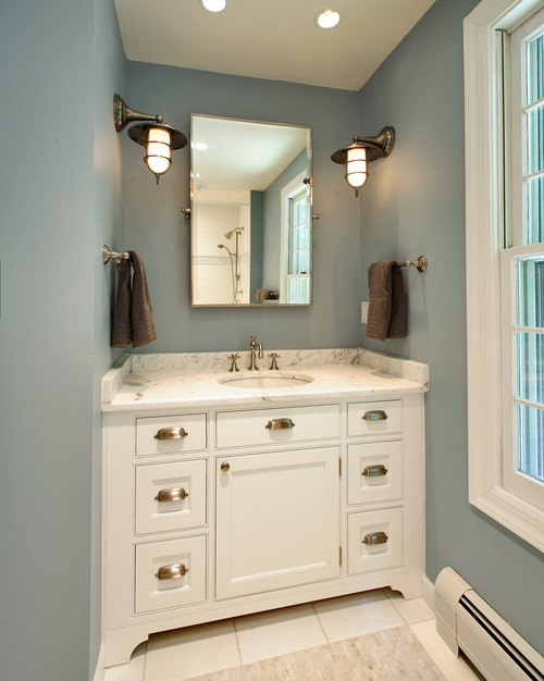 Coastal Bathroom Sconces - Grace + Gumption