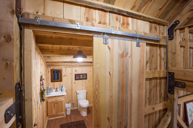 Nebraska Party Barn Traditional Bathroom Other By
