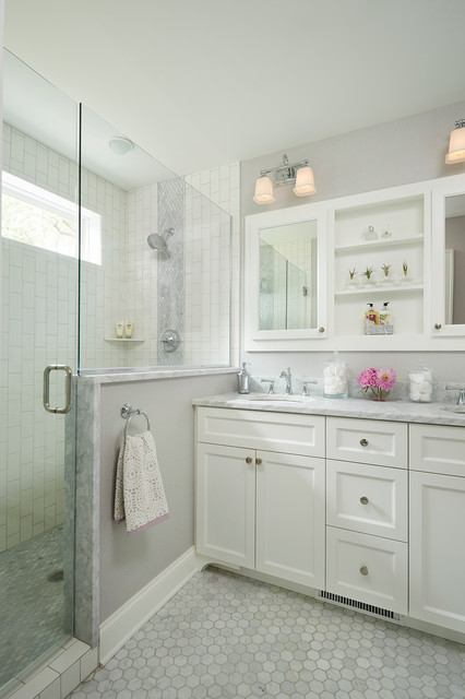 Neighborhood Charm transitional-bathroom