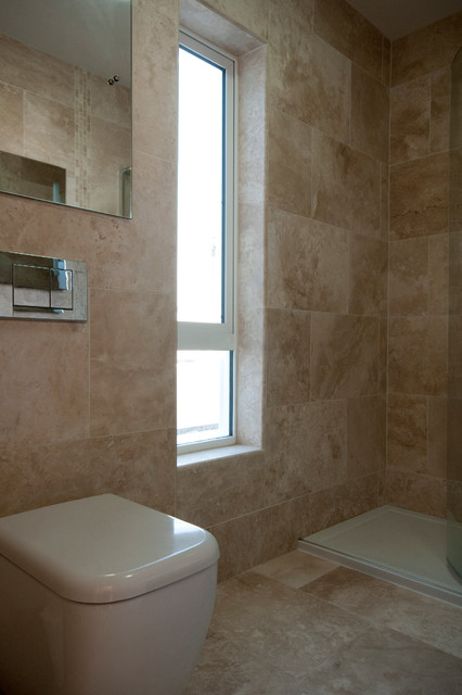 Neil dublin modern bathroom dublin by project for Bathroom design dublin