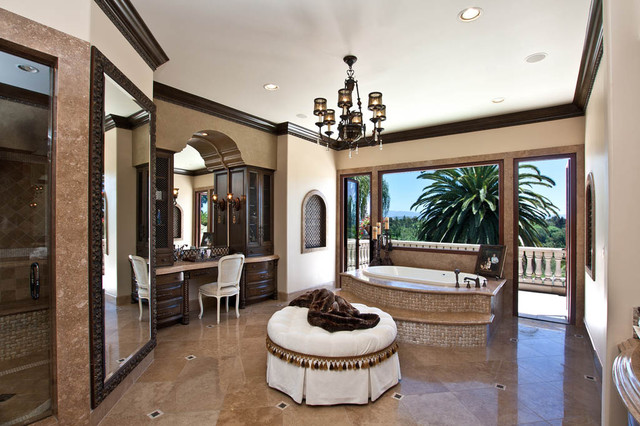 Nellie Gail Mediterranean Bathroom Orange County By Orange Coast Interior Design