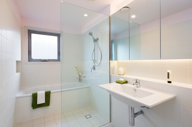 Fantastic  Queanbeyan With White Cabinets White Tile Ceramic Tile White Walls