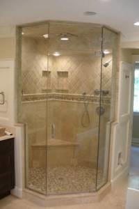 Neo Angle Shower Enclosures Modern Bathroom Orange
