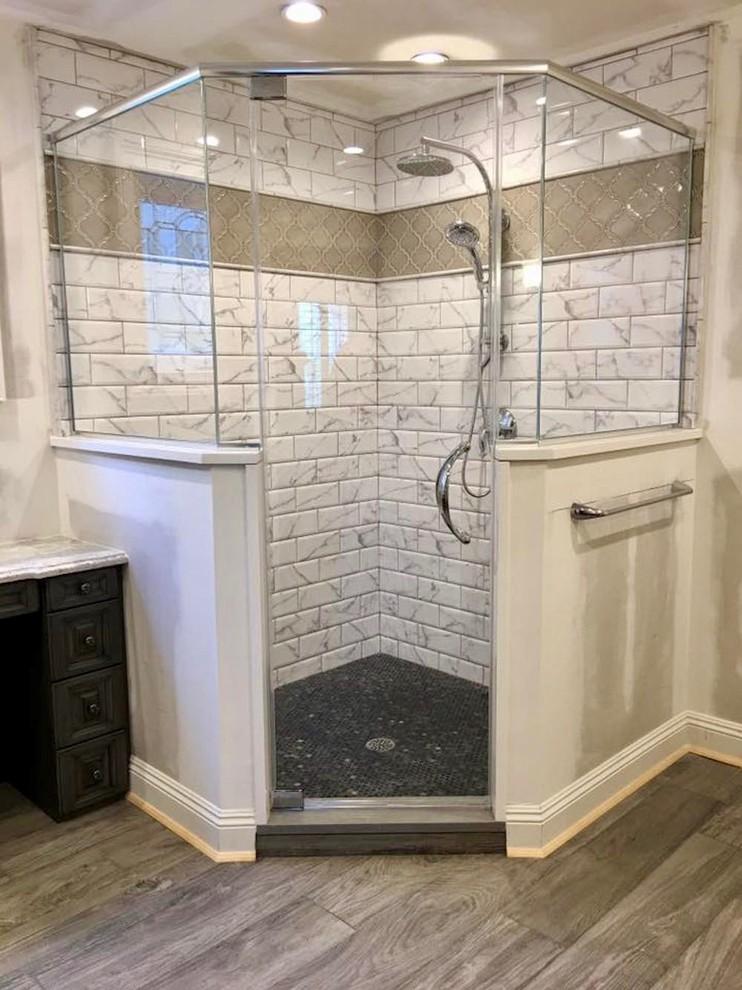neo angle showers  bathroom  new york lighthouse