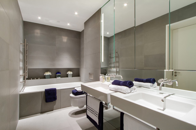 Neo Bankside - Contemporary - Bathroom - other metro - by Chris Snook