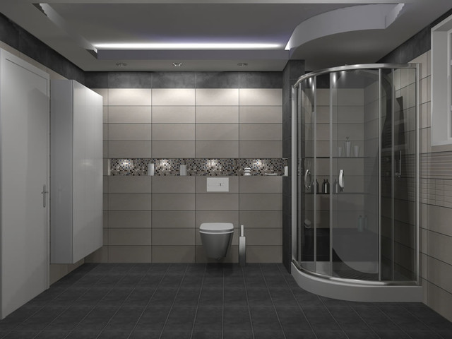 E Bath neox neutro σύνθεση μπάνιου contemporary bathroom other by