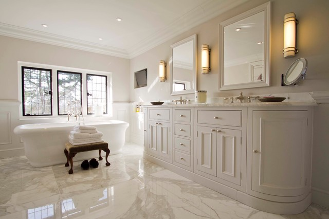Neptune Bathroom Vanity Cabinets Traditional