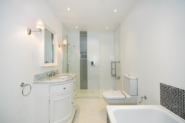 Neptune bathroom vanity cabinets traditional bathroom for Best home kitchen cabinets surrey