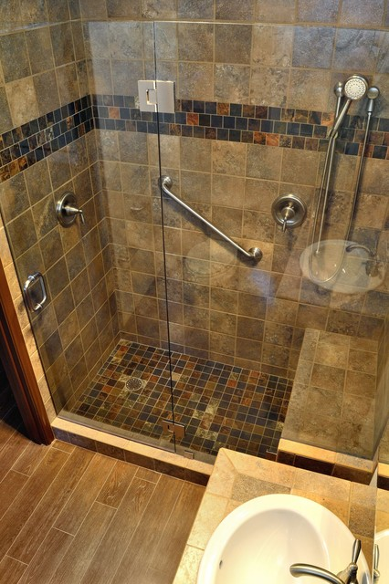 Netherwood park remodel traditional bathroom for Bath remodel albuquerque