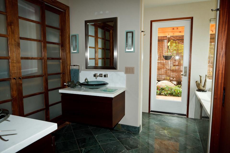 Neuhart Project Haiku Contemporary Bathroom Hawaii By Maui Joinery Inc