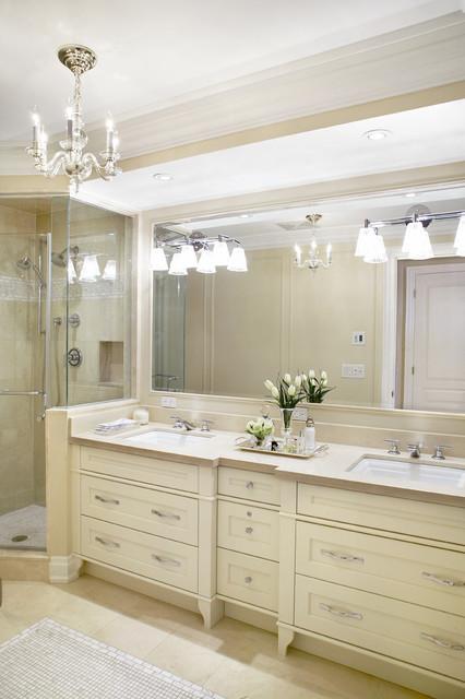 Neutral Master Bath Traditional Bathroom Toronto