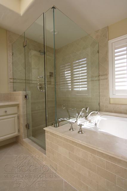 Neutral Retreat, La Jolla traditional-bathroom