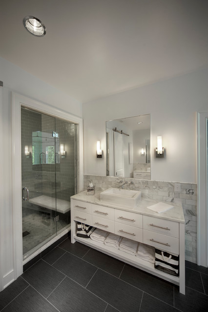 New Albany Contemporary Bathroom Columbus By Matrka Group