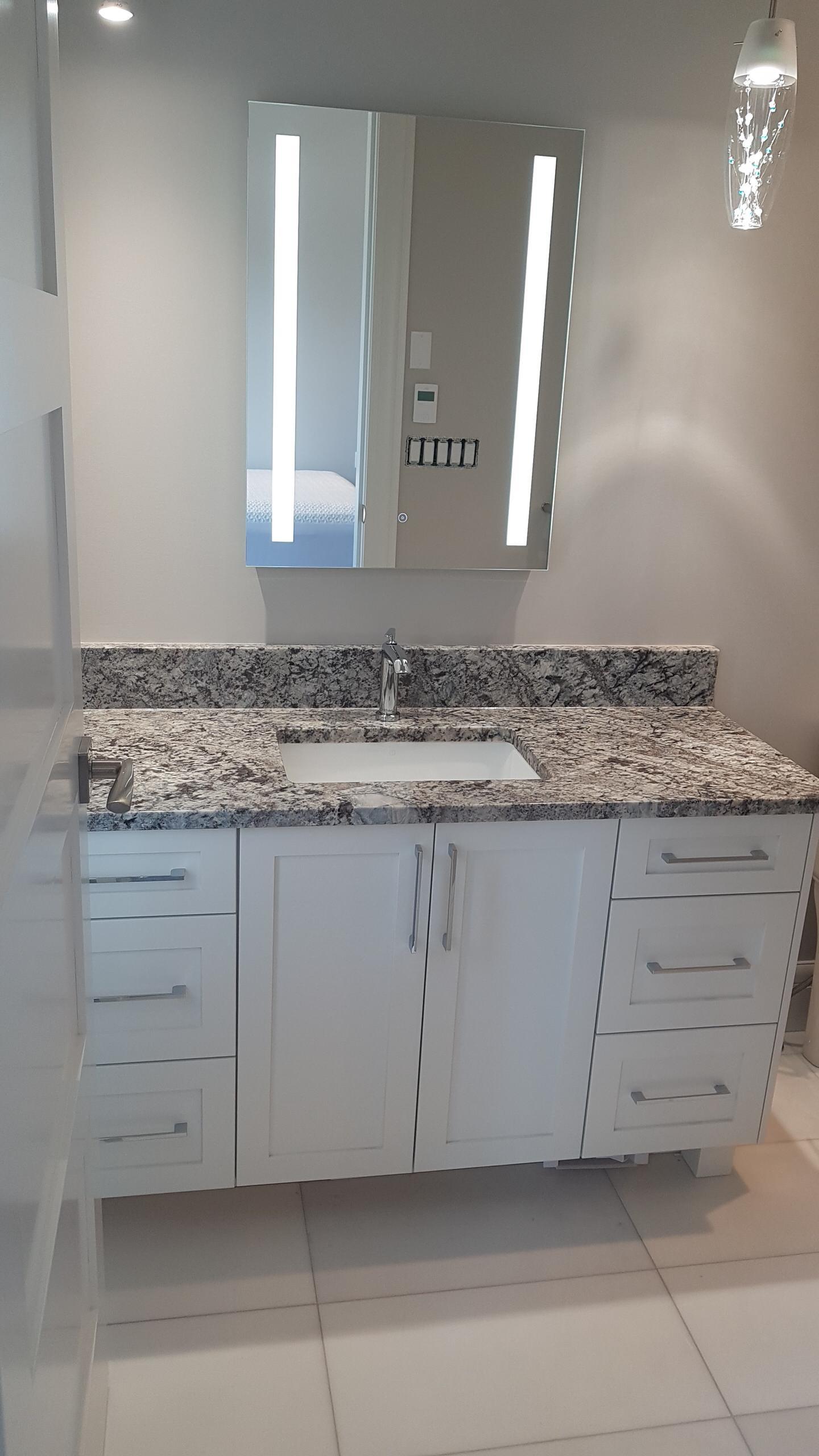 New Azul Aran Granite Countertop
