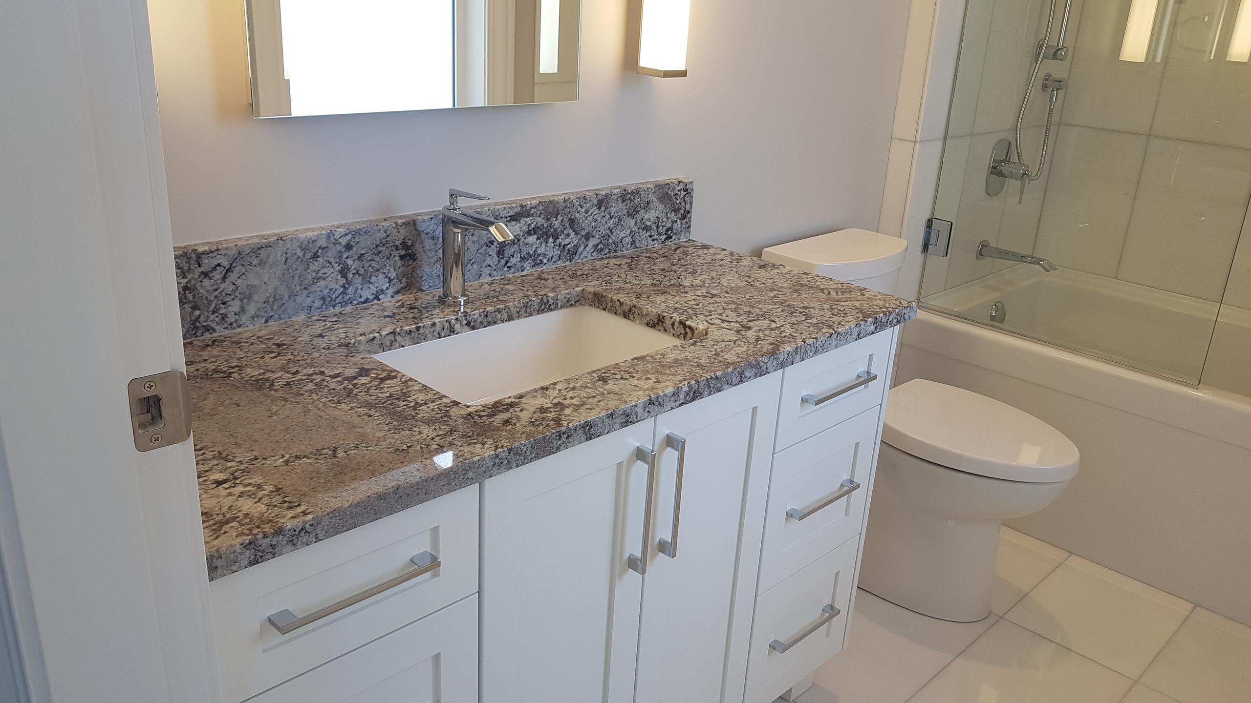 New Azul Aran Granite Vanity Countertop