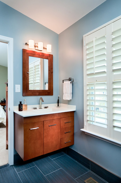 New Bathroom modern-bathroom