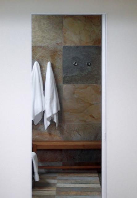 New Buffalo Lake House contemporary-bathroom
