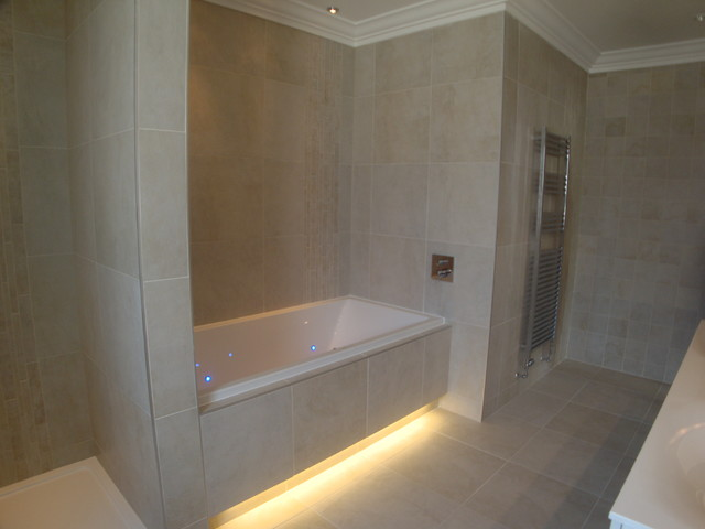 New Build Newton Mearns Glasgow Contemporary Bathroom Glasgow By Glenlith Interiors
