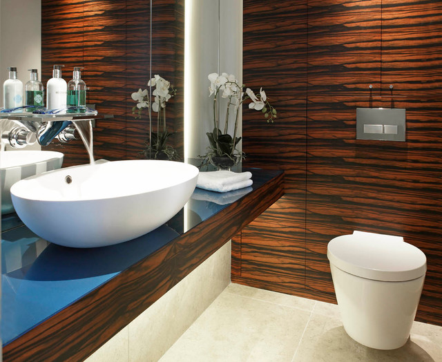 New build south yorkshire 2 contemporary bathroom for Bathroom design yorkshire