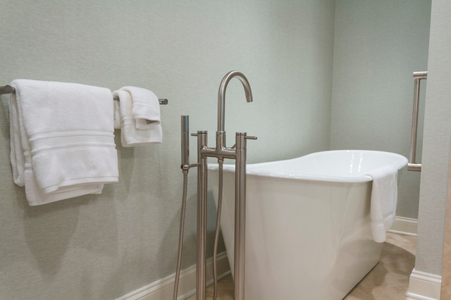 New canaan contemporary bathroom new york by dale for Dale bathrooms