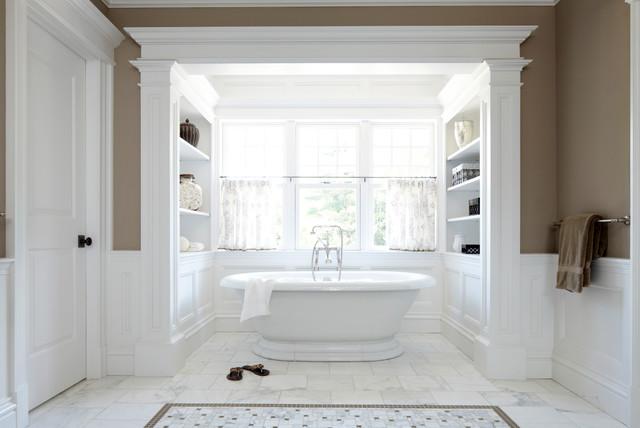 New canaan shingle style victorian bathroom new york for Bathroom window styles