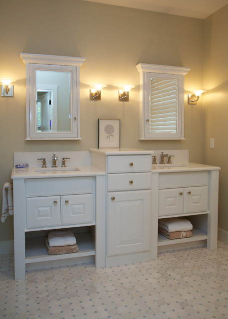 New Cape Cod Home Traditional Bathroom Boston By