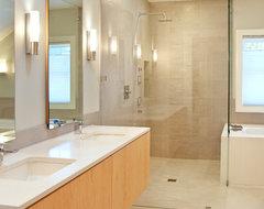 New Castle Modern modern-bathroom