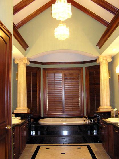 New Construction Bathroom traditional-bathroom