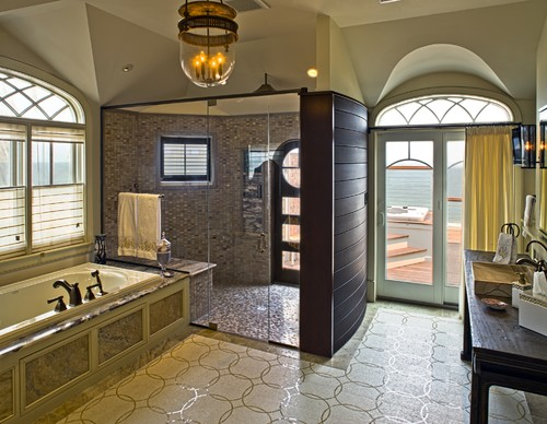 Exceptional Is The Window Treatment Inside The Shower Water Proof Or Water Resista